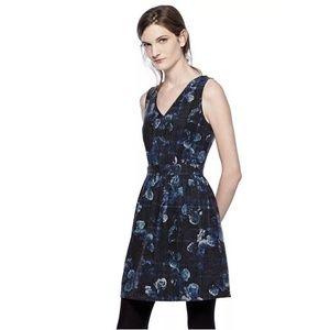 Thakoon Designation Floral Fit & Flare Dress